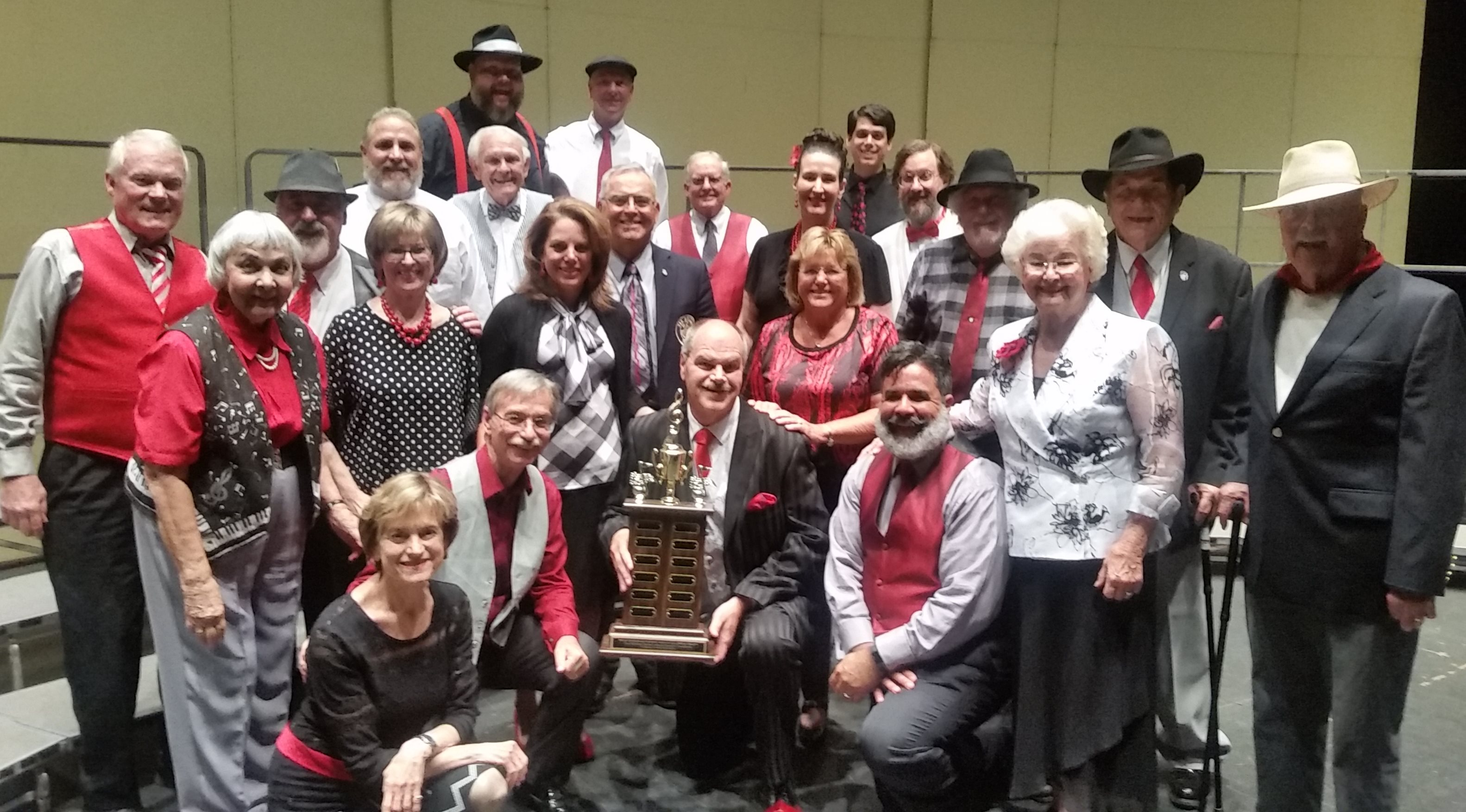2018 MBHA Champions - The Stockton Portsmen Chorus