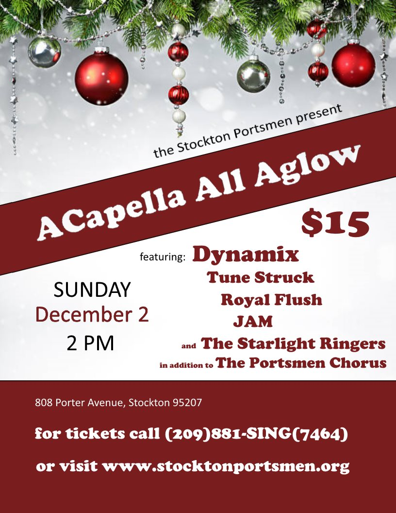2018 ......ACapella All Aglow